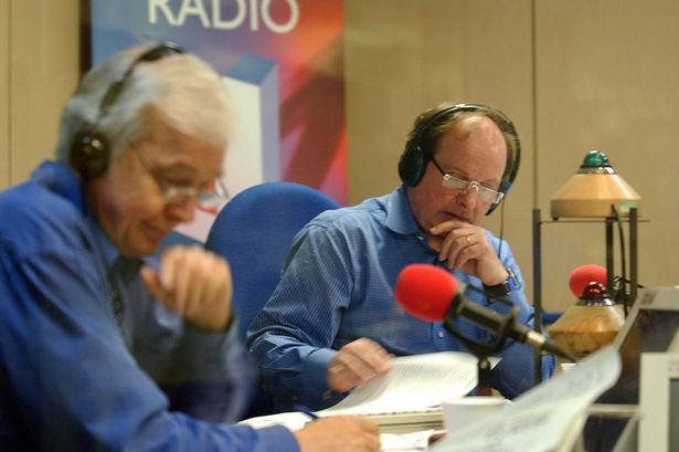 Jim Naughtie (on right) with John Humphreys in the 'Today' studio